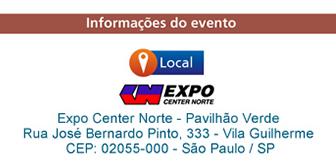 No Expo Center Norte - Pavilhão Verde
