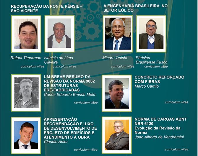 Participe das palestras e da cerimônia de entrega do Prêmio Talento Engenharia Estrutural 2016