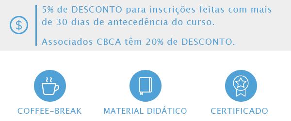 Associados CBCA têm 20% de desconto