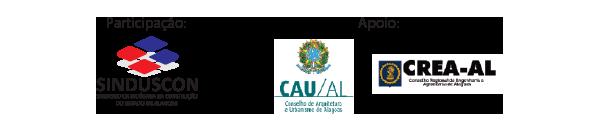 Apoio: Sinduscon de Alagoas
