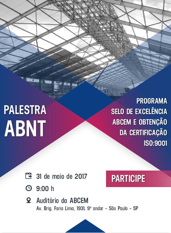 Programa selo de excelência ABCEM e obtenção de certificação ISO:9001
