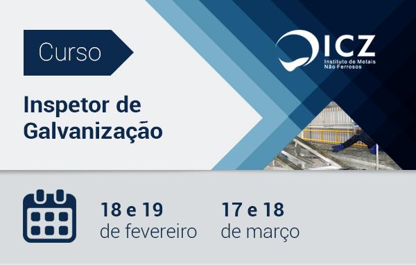 Faça os Cursos Presenciais do ICZ | 18 e 19 de fevereiro e 17 e 18 de março